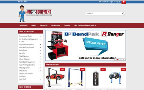 Quality Automotive Equipment and Tools at Great Prices - JMC Equipment