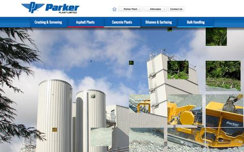 Screenshot of Home Page parkerplant.com - Parker Plant Ltd | Parker Plant Home - captured Oct. 2, 2014