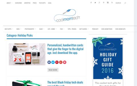 Holiday Picks Archives | Cool Mom Tech