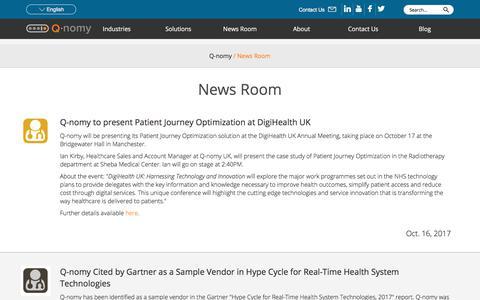 News Room | Q-nomy