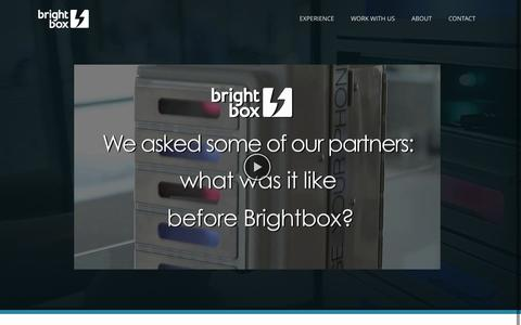 Screenshot of Testimonials Page brightboxcharge.com - brightbox |   Testimonials - captured Nov. 3, 2014