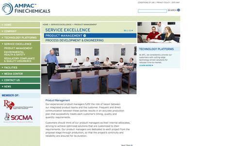 Screenshot of Team Page apfc.com captured Nov. 19, 2016