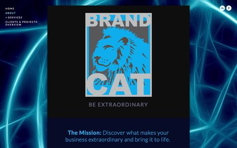 Screenshot of About Page brandcat.com - About Brand Cat Ń Branding and design strategy Minneapolis Minnesota - Brand Cat - captured Jan. 7, 2016