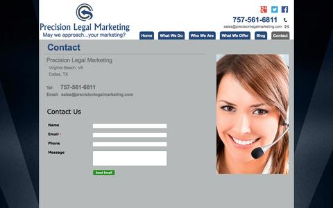 low traffic marketing desktop contact pages on moonfruit web
