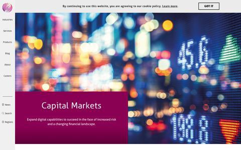 Capital Markets | Mindtree