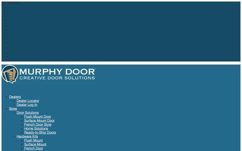 Screenshot of Support Page themurphydoor.com - Product Support | Murphy Door - captured Aug. 20, 2018