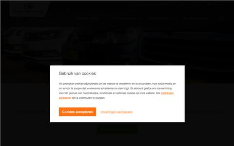 Screenshot of huiskes-kokkeler.nl - HK Autolease - Zakelijk & Private leasen - captured Oct. 22, 2018