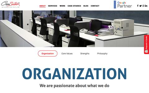 Screenshot of About Page csipl.net - About CSIPL | ECommerce Website Design and Development Company in Delhi - captured Dec. 5, 2019