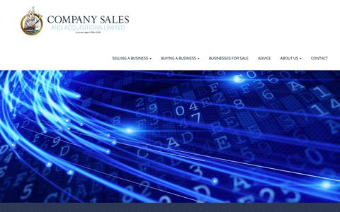 Screenshot of Privacy Page companysales.co.nz - Our Privacy Policy | Company Sales and Acquisitions - captured Sept. 29, 2018