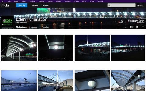 Screenshot of Flickr Page flickr.com - Flickr: Eden illumination's Photostream - captured Oct. 22, 2014
