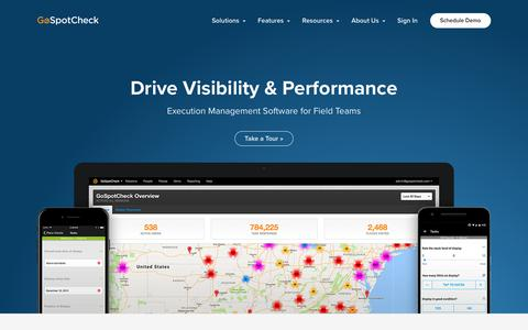 Mobile Enterprise Software Solution for Field Teams | GoSpotCheck