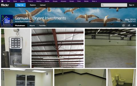 Screenshot of Flickr Page flickr.com - Flickr: Samuel Bryant Investments' Photostream - captured Oct. 23, 2014