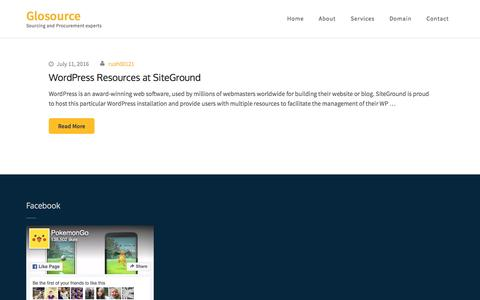 Glosource – Sourcing and Procurement experts