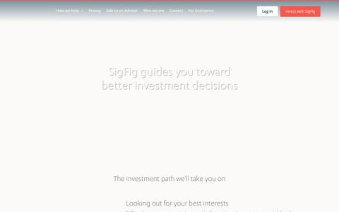 The easiest way to manage & improve your investments | Free online personal finance investment software