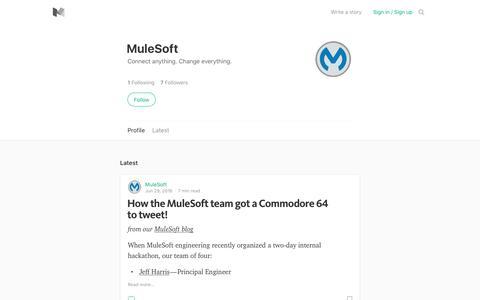 MuleSoft – Medium