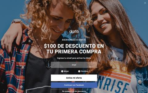 Beneficios Corporativos Dafiti