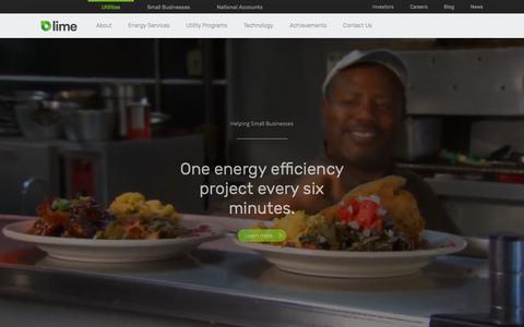 Utilities - Lime Energy