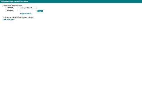Screenshot of Login Page parsiana.com captured June 29, 2018