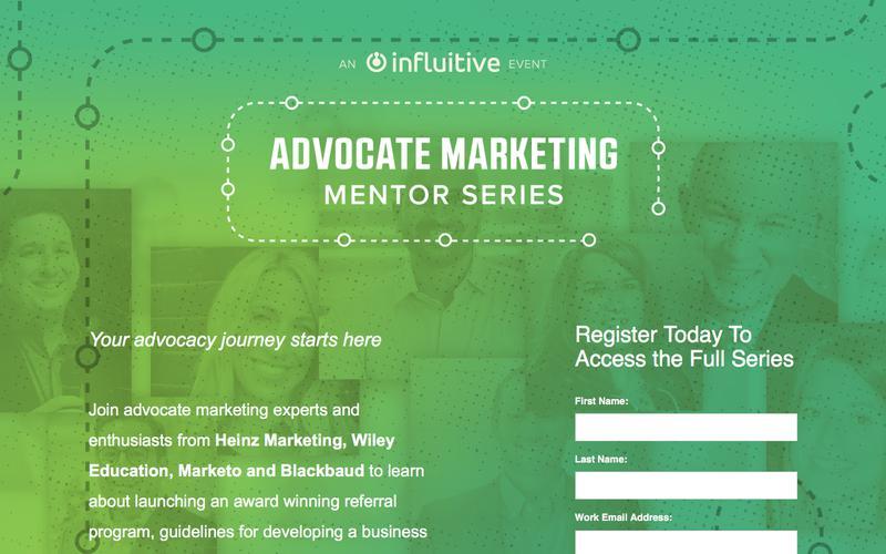 Advocate Marketing Mentor Series
