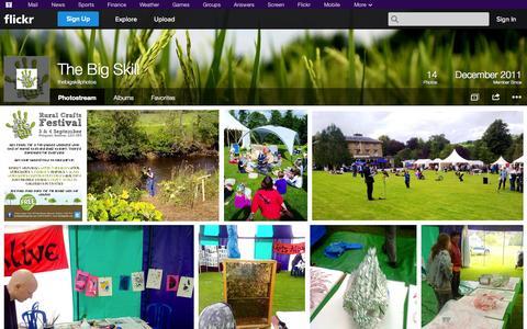 Screenshot of Flickr Page flickr.com - Flickr: thebigskillphotos' Photostream - captured Oct. 26, 2014