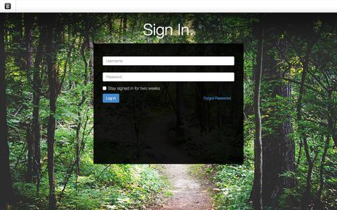 Screenshot of Login Page drgok.com - Delaware Resource Group :: Login - captured Jan. 29, 2016