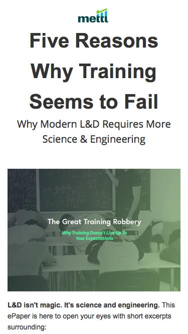 [ePaper] The Great Training Robbery