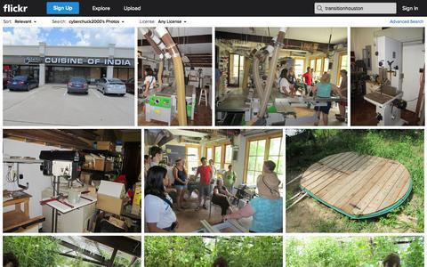 Screenshot of Flickr Page flickr.com - Flickr Search: transitionhouston | Flickr - Photo Sharing! - captured Oct. 26, 2014