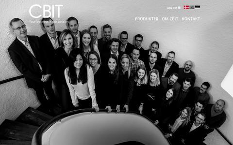 Screenshot of Team Page cbit.dk - The Team | CBIT - captured July 18, 2014