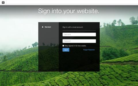 Screenshot of Login Page drgok.com - Delaware Resource Group :: Login - captured Dec. 14, 2015