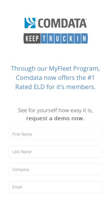 The #1 rated ELD now available in the MyFleet Program