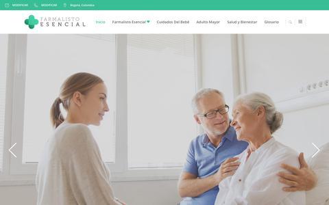 Screenshot of Blog farmalisto.com.co - blogdrogueria – Espacio para la salud - captured June 5, 2017
