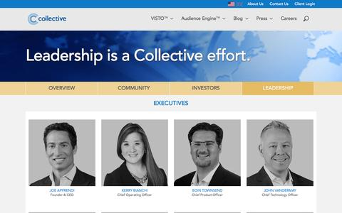 Screenshot of Team Page collective.com - Collective - captured Jan. 30, 2016