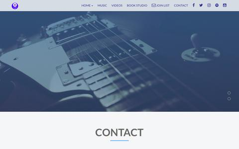 Screenshot of Contact Page indikrecords.com - Indi-K Records | Contact - captured Nov. 6, 2018