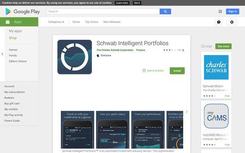 Schwab Intelligent Portfolios - Apps on Google Play