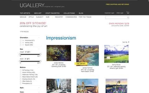 Original Impressionist Art for Sale   Ugallery