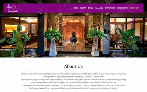 Screenshot of About Page theayu.com - The Ayu | About Us - captured Oct. 21, 2017