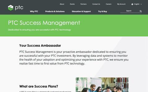 Success Management  | PTC