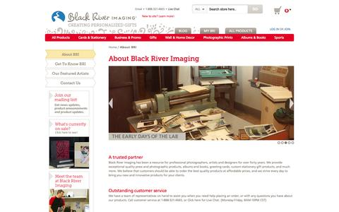 Screenshot of About Page blackriverimaging.com - About BRI  | Black River Imaging - captured Oct. 27, 2014
