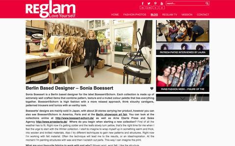 Screenshot of Blog reglam.me - test - captured Oct. 9, 2014