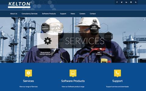 Screenshot of Home Page kelton.co.uk - KELTON - captured Aug. 6, 2015