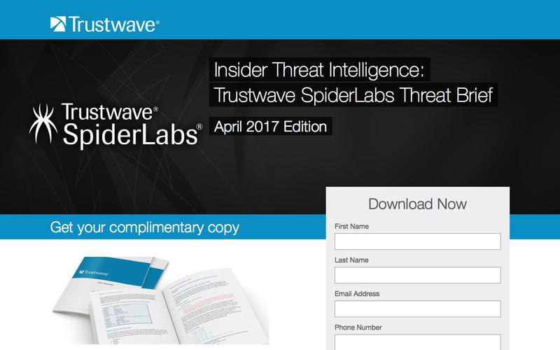Trustwave SpiderLabs Threat Brief: April 2017