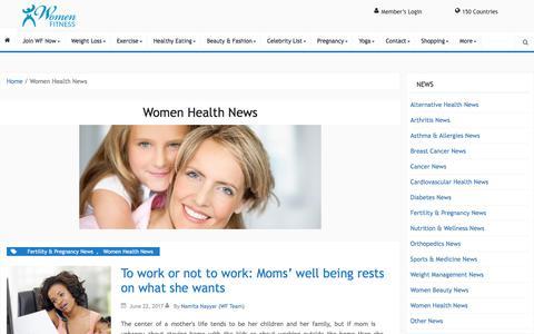 Women Health News Archives - Women Fitness