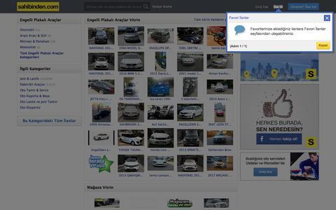 Engelli Plakalı Araçlar Engelli Aracı İlan ve Fiyatları sahibinden.com'da