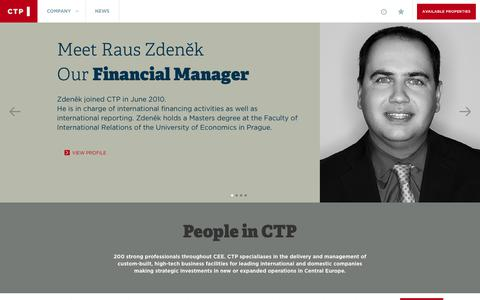 Screenshot of Team Page ctp.eu - People in CTP | CTP - captured July 10, 2017