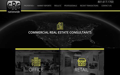 Screenshot of Home Page crcnationwide.com - cRc Nationwide - captured May 24, 2017