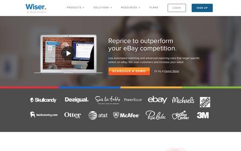 Wiser's eBay Repricing Software