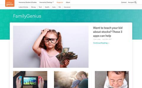 PolicyGenius Magazine - Parenting Advice, Hacks & Tips For Family Living