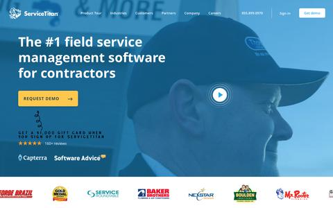ServiceTitan | #1 Field and Home Service Management Software