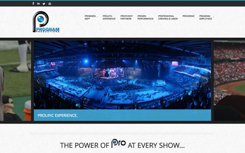 Home   Program ProductionsProgram Productions