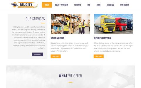 Packers and Movers in India - All City Packers & Movers Pvt Ltd. ®